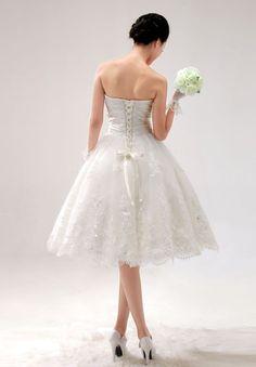50eac8e2b8 Lace up back. Perfect dress Elegant Wedding Dress