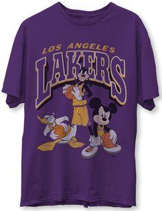 Vintage Mickey, Vintage Shirts, Vintage Graphic Tees, Men's Vintage, Graphic Shirts, Lakers T Shirt, Lakers Team, Look 80s, Looks Hip Hop