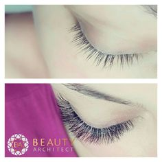 Volume lashes made with 0.03 lashes. Russian Volume. 4D-6D fans.