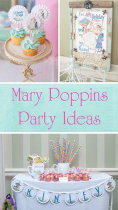 Mary Poppins Birthday Party Ideas