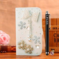 Locaa(TM) For Apple IPhone6 Plus IPhone 6 Plus IPhone6+ 3D Bling Case + Touch stylus + Anti-dust ear plug Deluxe Luxury Crystal Pearl Diamond Rhinestone eye-catching Beautiful Leather Retro Support bumper Cover Card Holder Wallet Cases -[General series] bowknot pendant 2  http://topcellulardeals.com/product/locaatm-apple-iphone6-plus-iphone-6-plus-only-for-5-5-3d-bling-case-phone-stylus-anti-dust-ear-plug-deluxe-luxury-crystal-pearl-diamond-rhinestone-eye-catching-beautiful-l