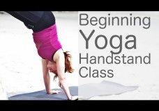 Yoga Handstand Flow