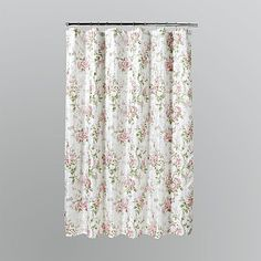 Florentine Stripe Shower Curtain   Color: Pink / White | Pink Rose Bathroom  | Pinterest | Striped Shower Curtains