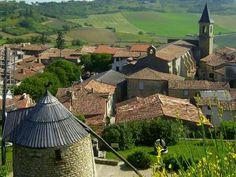 Lautrec plus beaux villages de France Guide du tourisme du Tarn Midi-Pyrénées
