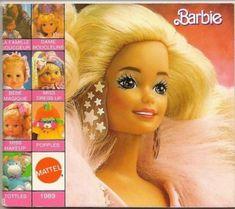 catalogue mattel barbie annee 80 - Google Search