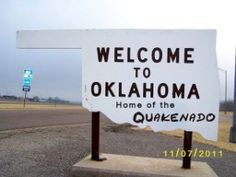 welcome to Oklahoma