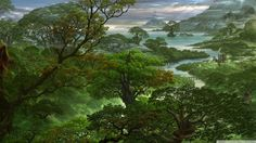 Fantasy Jungle HD desktop wallpaper : Widescreen : High Definition ...