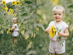 sunflower session by erin morrison photography featured on life + lens blog