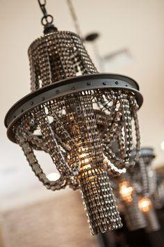 chain chandelier - Google Search