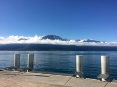 Geneva lake (Leman lake), Montreux, Switzerland