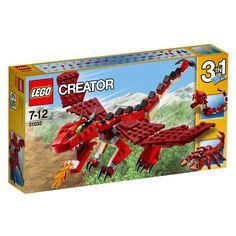 LEGO Creator rode dieren 31032
