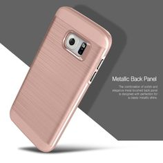 Amazon.com: Galaxy S7 Case, OBLIQ [Slim Meta][Rose Gold] Slim Fit Premium Dual Layer Protection Case with Metallic Brush Finish Back with Shock Absorbing TPU Inner Layer for Samsung Galaxy S7: Cell Phones & Accessories