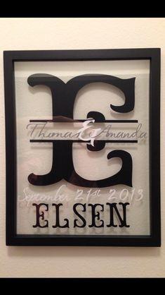 Vinyl project- Wedding Vinyl Monogram        INTERESTED IN CUSTOM ORDER PLEASE CHECK OUT- http://esty.com/shop/Spencerscrafts5       Thank You!!!!