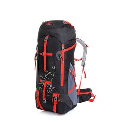64.89$  Buy now - http://ali7hv.worldwells.pw/go.php?t=2050222637 - 75L Large capacity Mountaineering bag Waterproof Nylon Backpack Rucksack Men's Travel Bags bagpack 7colors bolsos mujer bolsa