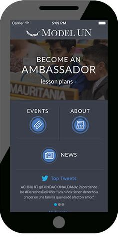 model United Nations App