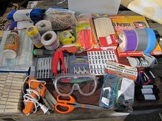 Get your mess on!: Tinkerer's toolbox (the tame version) Get your mess on!: Tinkerer's toolbox (the tame version) Soft Summer, Stem Activities, Activities For Kids, Kids Boxing, Eyfs, Science, Reggio, Early Childhood, Preschool
