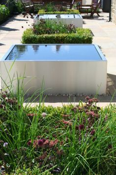 Stainless Steel water features Private Garden