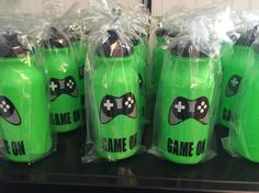 Video game themed party favors #xbox