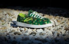 The Boast x Tretorn Nylite Maple Camo Sneakers are Ideal for Autumn #shoes #fashion trendhunter.com