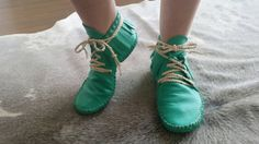Check out this item in my Etsy shop https://www.etsy.com/ca/listing/263315738/womens-leather-moccasins-turquoise