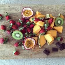 Image result for fruit platter for chocolate fondue
