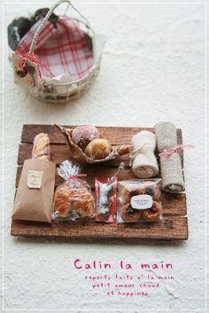 【H様オーダー予約】  *miniature teatime set*中身のみ