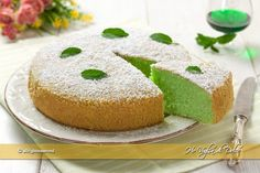 Torta alla menta soffice Yogurt, Healthy Cooking, Healthy Recipes, Cooking Cake, Something Sweet, Biscotti, Cornbread, Vanilla Cake, Nutella