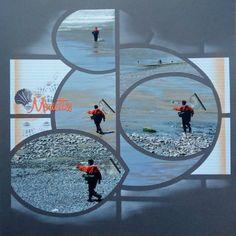 Album Photo Scrapbooking, 4 Photos, Stencils, Diy Crafts, Mars, Venus, Fishing, Templates, Pictures