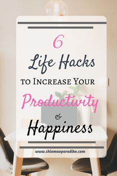 Do you want to build a productive and fulfiling life? These life hacks will increase your productivity and happiness.Check them out. Productivity| Goal Setting |gratitude |Life