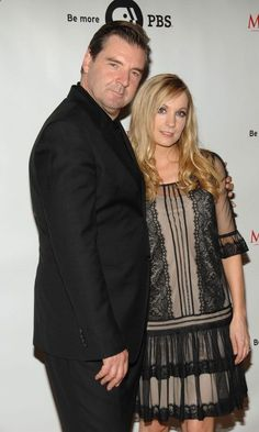 Brendan Coyle (Mr. Bates)  Joanne Froggatt (Anna Bates)