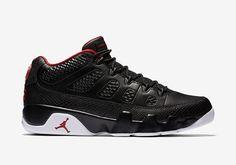 "Air Jordan 9 Low ""Black/University Red"" - EU Kicks: Sneaker Magazine"