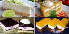 Zbierka 17 najlepších osviežujúcich dezertov, ktoré odporúčame pripraviť v letnom období | NajRecept.sk Vanilla Cake, Cheesecake, Food And Drink, Baking, Tiramisu, Recipes, Strudel, 3, Restaurant