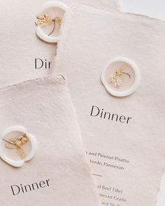 Beautiful typeface wedding menus with vellum + dried flower wax seals on handmade paper by Michaela McBride Wedding Menu, Wedding Stationary, Wedding Paper, Wedding Cards, Diy Wedding, Wedding Invitations, Wedding Planning, Safari Wedding, Elephant Wedding