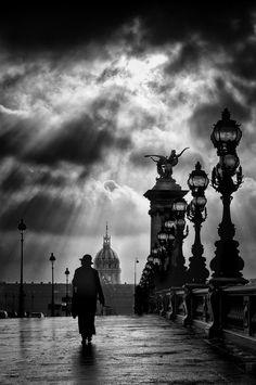 Paris juste après l'orage by Eric DRIGNY