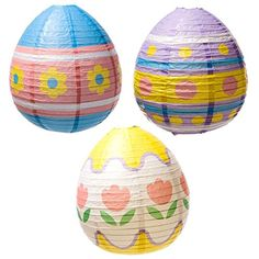Easter Egg Lantern Decorations *** Click on the image for additional details. (This is an affiliate link) #PartySupplies