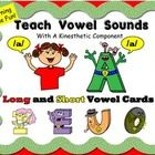 Learning made fun! Teach the long and short sounds of all 5 vowels through Super Letters. All the vowels have a super power that is related to the ...