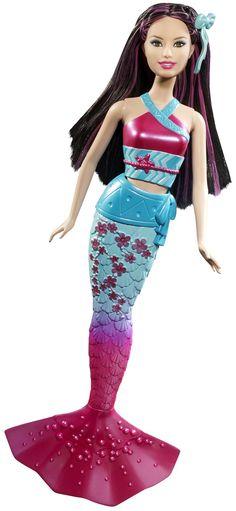 Barbie In A Mermaid Tale 2 Mermaid Asia Doll - Free Shipping