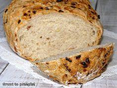 GRUNT TO PRZEPIS!: Cebulowy chleb z naczynia żaroodpornego Banana Bread, Bakery, Yummy Food, Yummy Recipes, Cooking, Desserts, Christmas, Brot, Kitchen