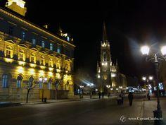 Catedrala din Novi Sad domina centrul vechi al orasului intr-o noapte friguroasa de decembrie. http://www.cipriancaraba.ro/novi-sad/