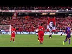 """▶ Liverpool F.C. & 95,000 Australian fans sing """"You'll Never Walk Alone"""" FULL Dolby MCG July 24,2013 - YouTube"""