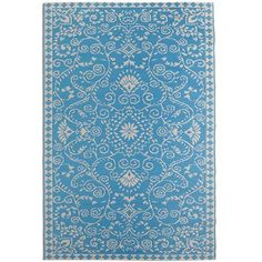 Persian Rugs - Turquoise_Turquoise Persian Rug 2 sizes - 4x6 $34.95  #2682181    - 6x9  $69.95  #2682179 For dining area Details Turquoise Polypropylene Reversible Rinse with garden hose For indoor/outdoor use