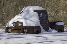 This is a beautiful oldie Ford Truck i photographed one day. I had passed this by many times and each time it would catch my eye! I stopped on this beautiful winter day! 1948 Ford Truck, Old Ford Trucks, Old Pickup Trucks, Gm Trucks, Cool Trucks, Pickup Auto, Old Ford Pickups, Chevy Motors, Classic Ford Trucks