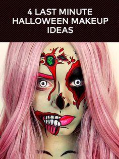 Last Minute Halloween Makeup Ideas | Beautylish