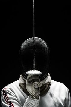 The fencer by james abbott fencing sword, fencing mask, fencing foil, sport photography Kendo, Olympia, Crosse De Hockey, The Fencer, Fencing Sport, Fencing Club, Sword Fight, Sport Photography, Portrait Photography