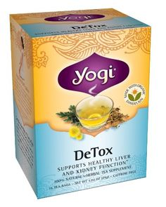 Yogi DeTox Tea, 16 Tea Bags (Pack of 6) Yogi Teas,http://www.amazon.com/dp/B0009F3SAK/ref=cm_sw_r_pi_dp_lWHGtb1KQYR90RDZ