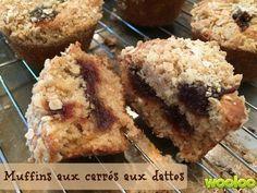 Hier sur ma page facebook, j'ai reçu une demande spéciale : des muffins à l'avoine et aux dattes. J'ai cherché, cherché et cherché une belle recette. Je n'ai rien trouvé d'inspirant. J'aurais pu tout simplement mettre des morceaux de dattes dans mes muffins à l'avoine, mais j'avais le goût de plus. Flash! Et si je […] Mousse Dessert, Dessert Dips, Dessert Recipes, Croissants, Muffin Bread, Baking Cupcakes, Muffin Recipes, Delicious Desserts, Food To Make