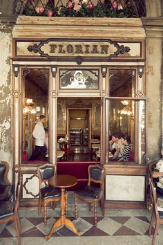 Caffe Florian in Venice - Veneto, Italy The Places Youll Go, Places To See, Rome Florence, Belle Photo, Naples, Italy Travel, Venice Travel, Boutiques, Places To Travel