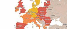 En matière d'incarcération comme ailleurs, les pays du nord de l'Europe arrivent en tête du classement (voir ci-dessous).