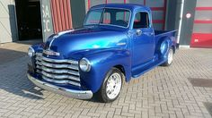 Chevrolet - 3100 Apache Pick-Up Shortbed Stepside - 1948