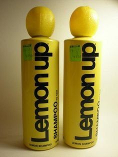 Lemon up shampoo!70's